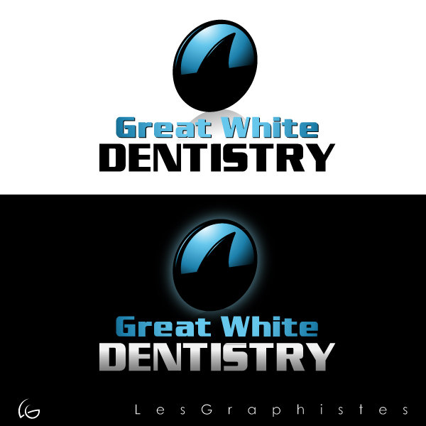 Logo Design by Les-Graphistes - Entry No. 14 in the Logo Design Contest Logo Design for Great White Dentistry.