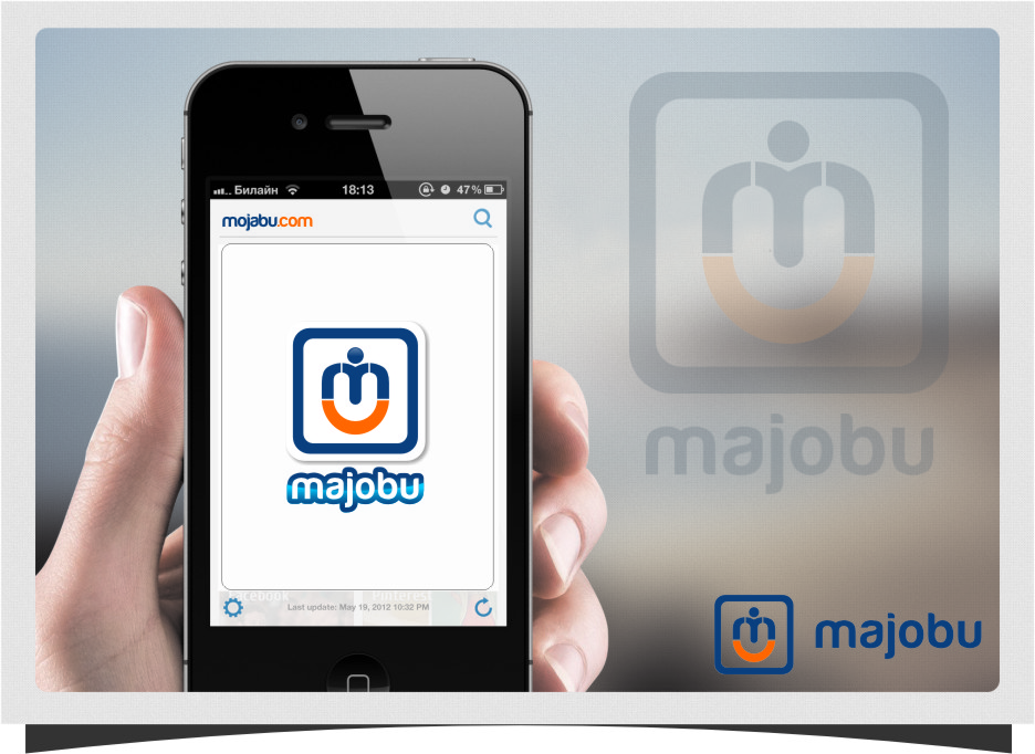 Logo Design by Ngepet_art - Entry No. 149 in the Logo Design Contest Inspiring Logo Design for Majobu.