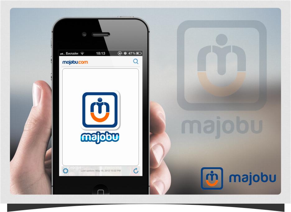 Logo Design by RoSyid Rono-Rene On Java - Entry No. 149 in the Logo Design Contest Inspiring Logo Design for Majobu.
