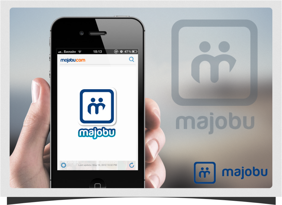 Logo Design by Ngepet_art - Entry No. 157 in the Logo Design Contest Inspiring Logo Design for Majobu.