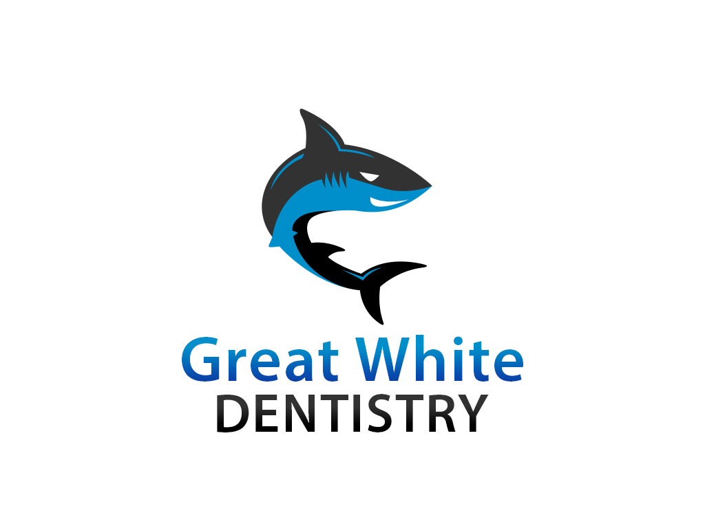 Logo Design by philipprince - Entry No. 15 in the Logo Design Contest Logo Design for Great White Dentistry.