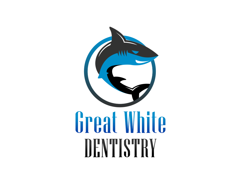 Logo Design by philipprince - Entry No. 16 in the Logo Design Contest Logo Design for Great White Dentistry.