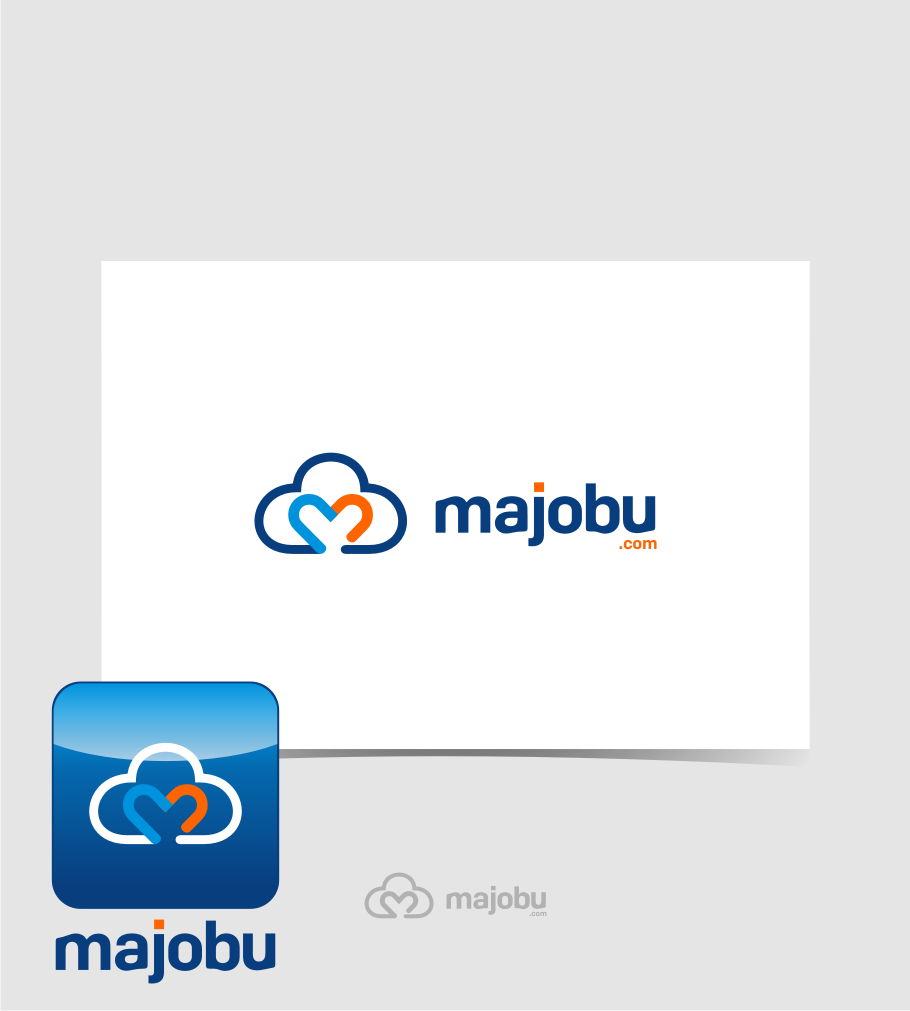 Logo Design by graphicleaf - Entry No. 161 in the Logo Design Contest Inspiring Logo Design for Majobu.