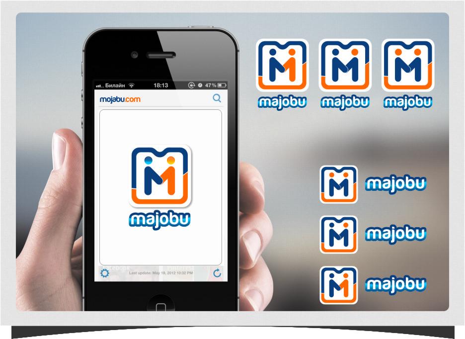 Logo Design by RasYa Muhammad Athaya - Entry No. 166 in the Logo Design Contest Inspiring Logo Design for Majobu.