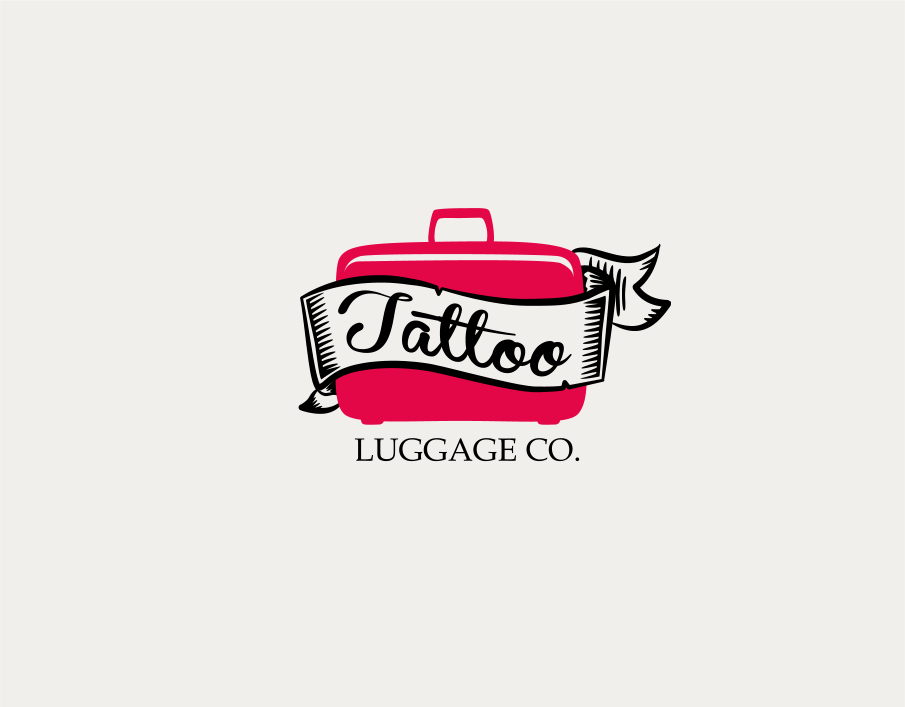 Logo Design by Jorge Sardon - Entry No. 16 in the Logo Design Contest Artistic Logo Design for Tattoo Luggage Company.
