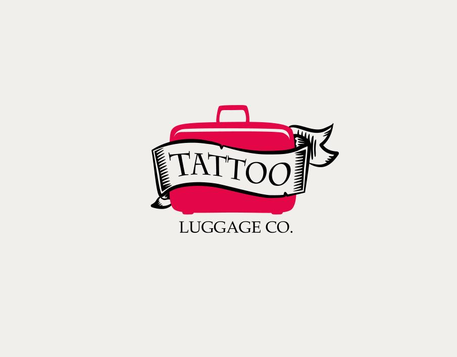 Logo Design by Jorge Sardon - Entry No. 17 in the Logo Design Contest Artistic Logo Design for Tattoo Luggage Company.