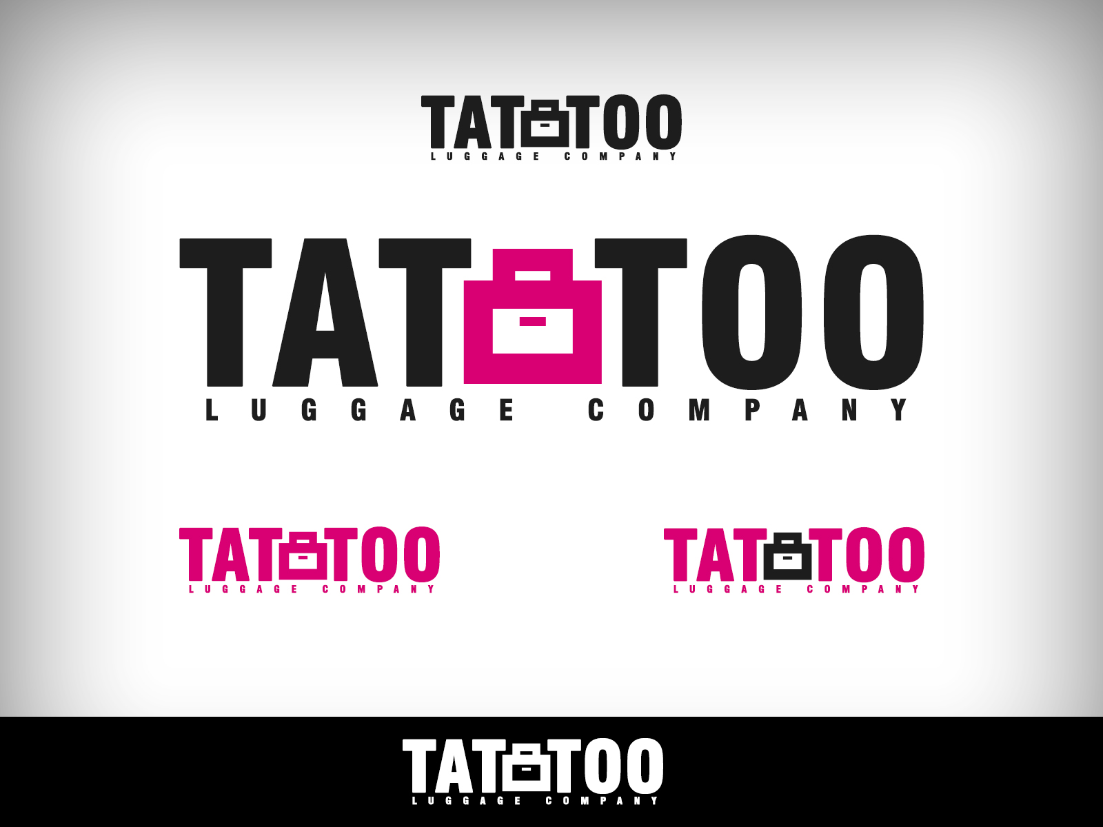 Logo Design by Virgilio Pineda III - Entry No. 18 in the Logo Design Contest Artistic Logo Design for Tattoo Luggage Company.