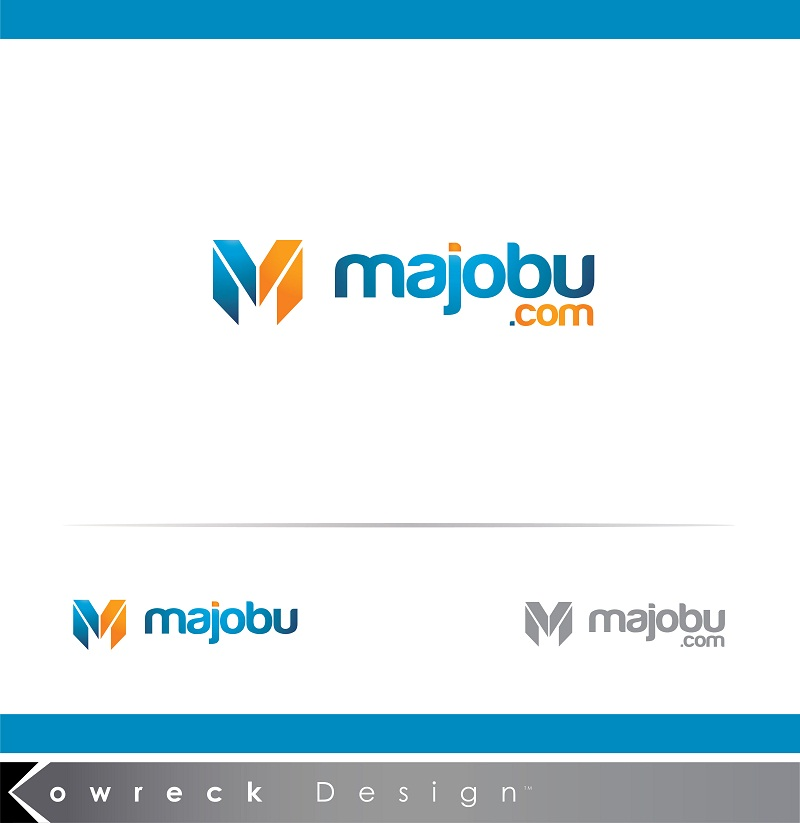 Logo Design by kowreck - Entry No. 172 in the Logo Design Contest Inspiring Logo Design for Majobu.