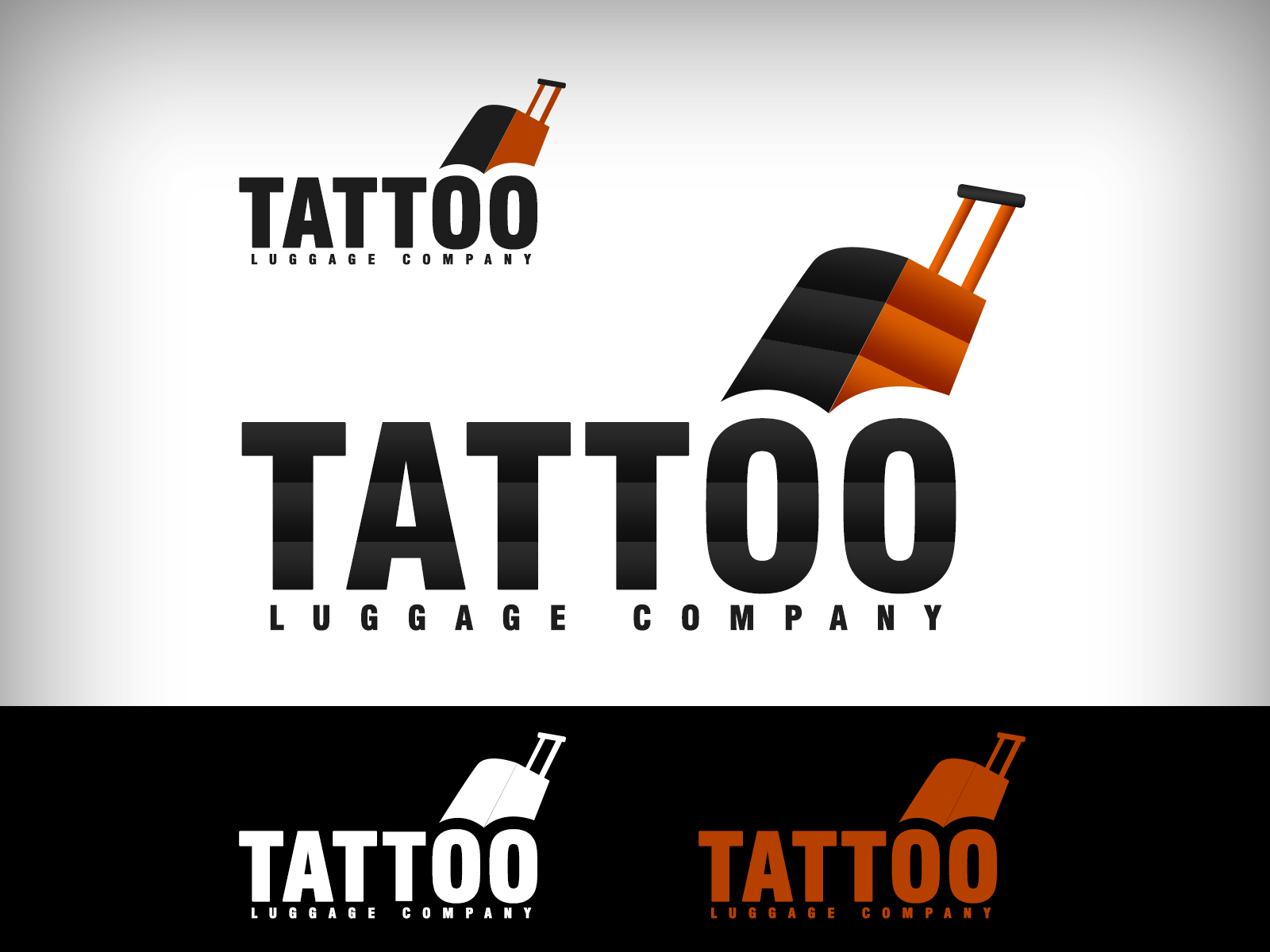Logo Design by Virgilio Pineda III - Entry No. 19 in the Logo Design Contest Artistic Logo Design for Tattoo Luggage Company.