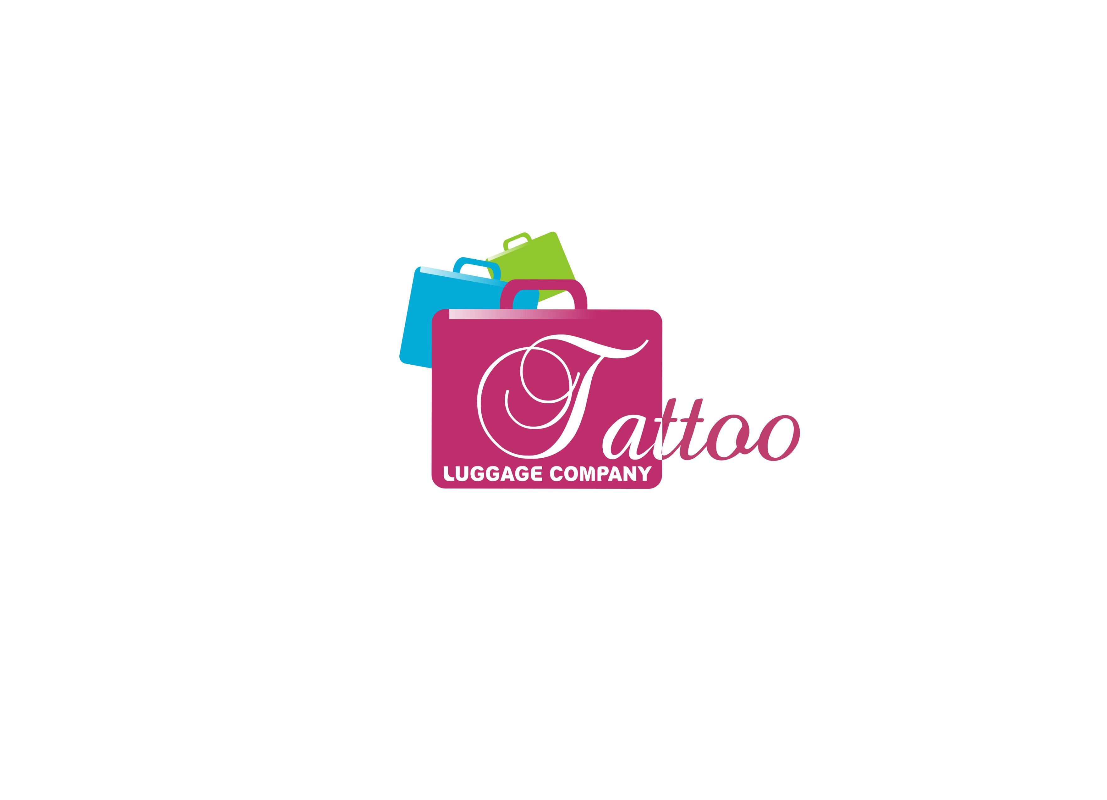 Logo Design by Kostas Vasiloglou - Entry No. 25 in the Logo Design Contest Artistic Logo Design for Tattoo Luggage Company.