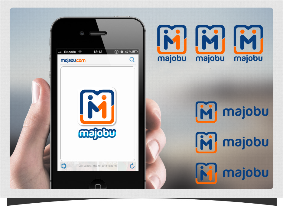 Logo Design by RasYa Muhammad Athaya - Entry No. 180 in the Logo Design Contest Inspiring Logo Design for Majobu.