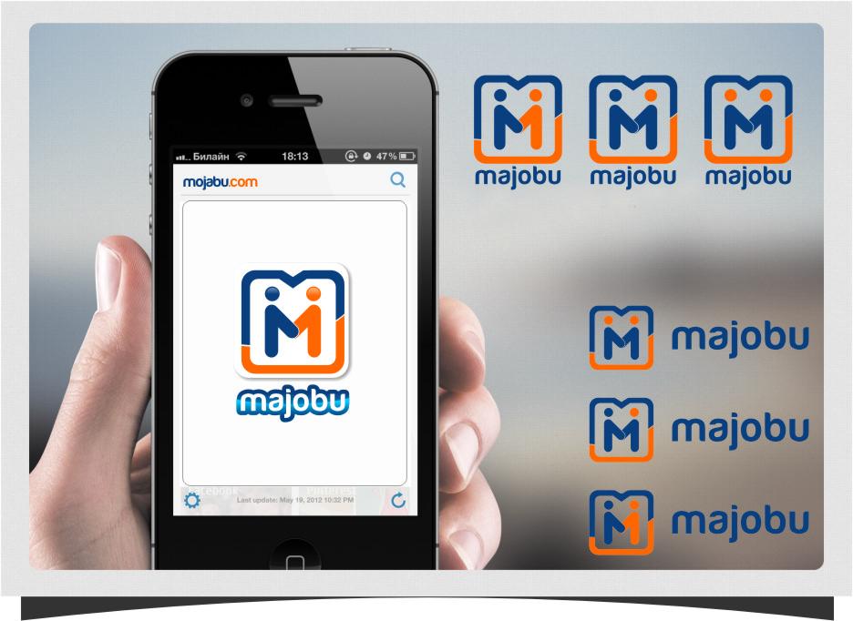 Logo Design by Ngepet_art - Entry No. 184 in the Logo Design Contest Inspiring Logo Design for Majobu.
