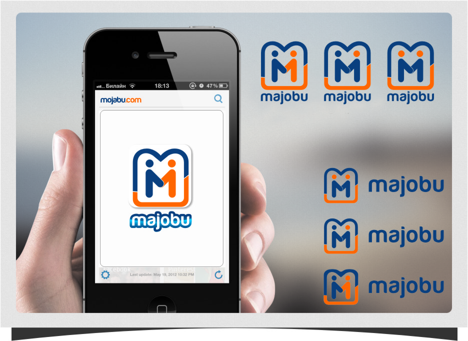 Logo Design by RasYa Muhammad Athaya - Entry No. 185 in the Logo Design Contest Inspiring Logo Design for Majobu.