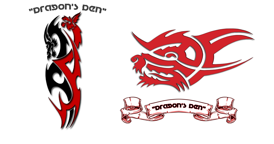 Logo Design by andrew.ir - Entry No. 104 in the Logo Design Contest The Dragons' Den needs a new logo.