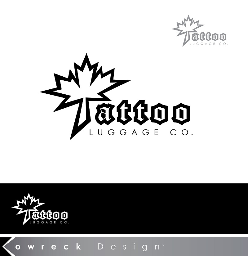 Logo Design by kowreck - Entry No. 32 in the Logo Design Contest Artistic Logo Design for Tattoo Luggage Company.