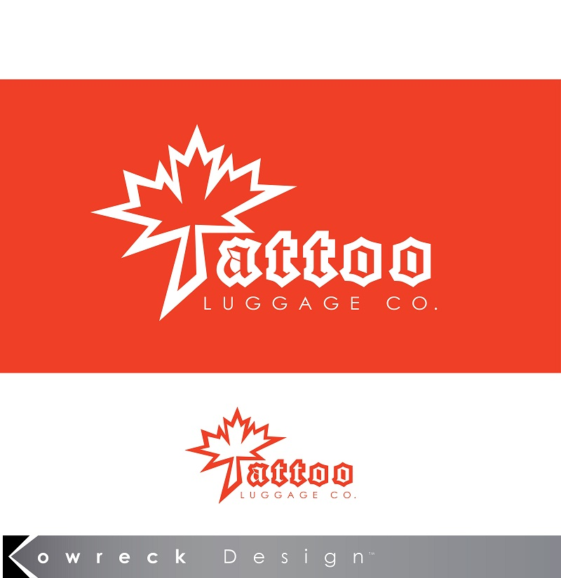 Logo Design by kowreck - Entry No. 34 in the Logo Design Contest Artistic Logo Design for Tattoo Luggage Company.