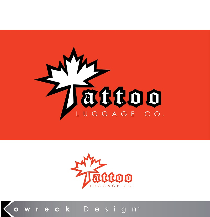 Logo Design by kowreck - Entry No. 35 in the Logo Design Contest Artistic Logo Design for Tattoo Luggage Company.