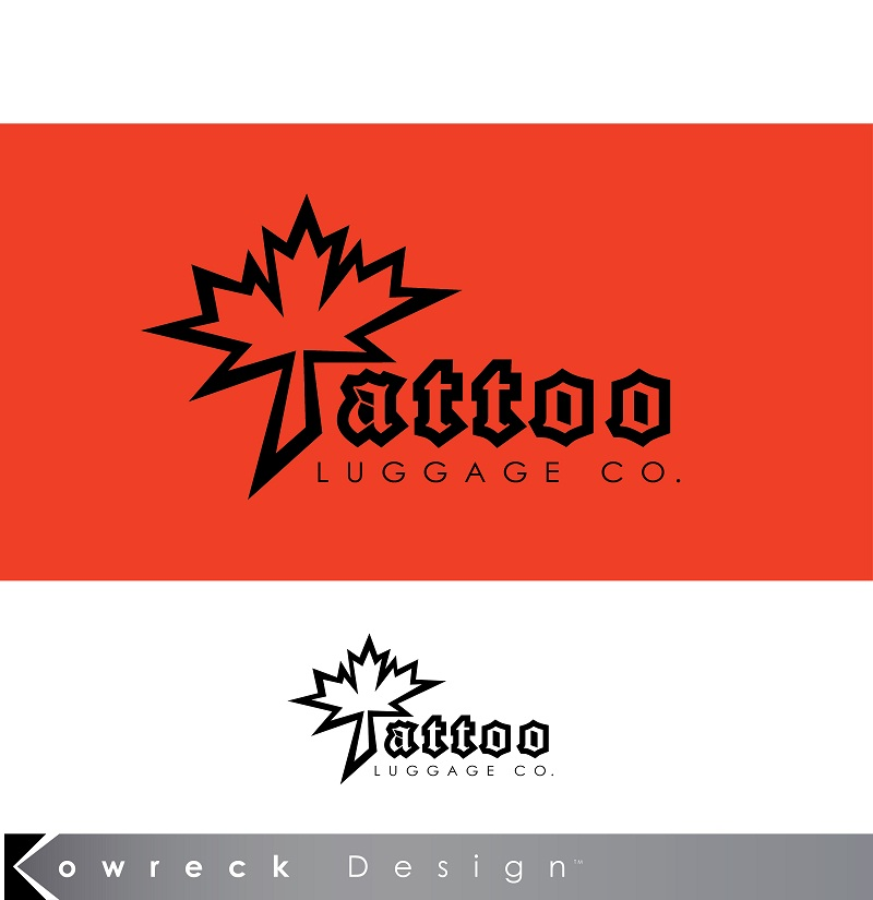Logo Design by kowreck - Entry No. 36 in the Logo Design Contest Artistic Logo Design for Tattoo Luggage Company.