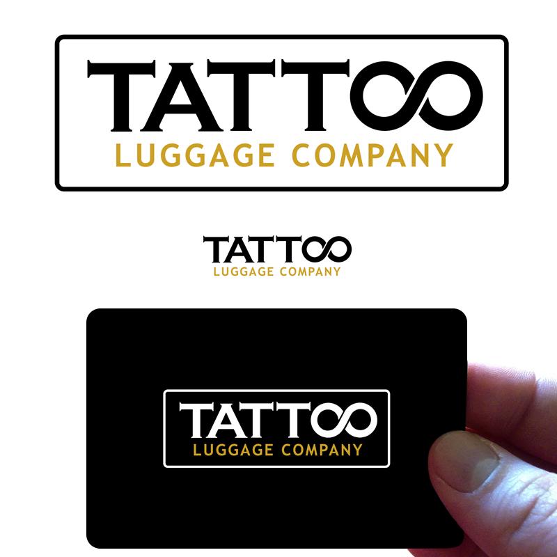 Logo Design by Robert Turla - Entry No. 37 in the Logo Design Contest Artistic Logo Design for Tattoo Luggage Company.