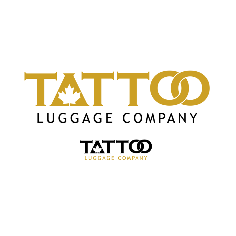 Logo Design by Private User - Entry No. 41 in the Logo Design Contest Artistic Logo Design for Tattoo Luggage Company.