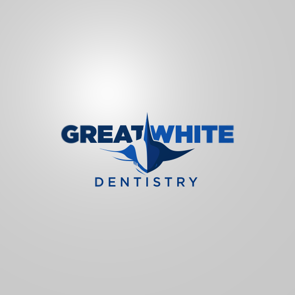 Logo Design by Private User - Entry No. 21 in the Logo Design Contest Logo Design for Great White Dentistry.