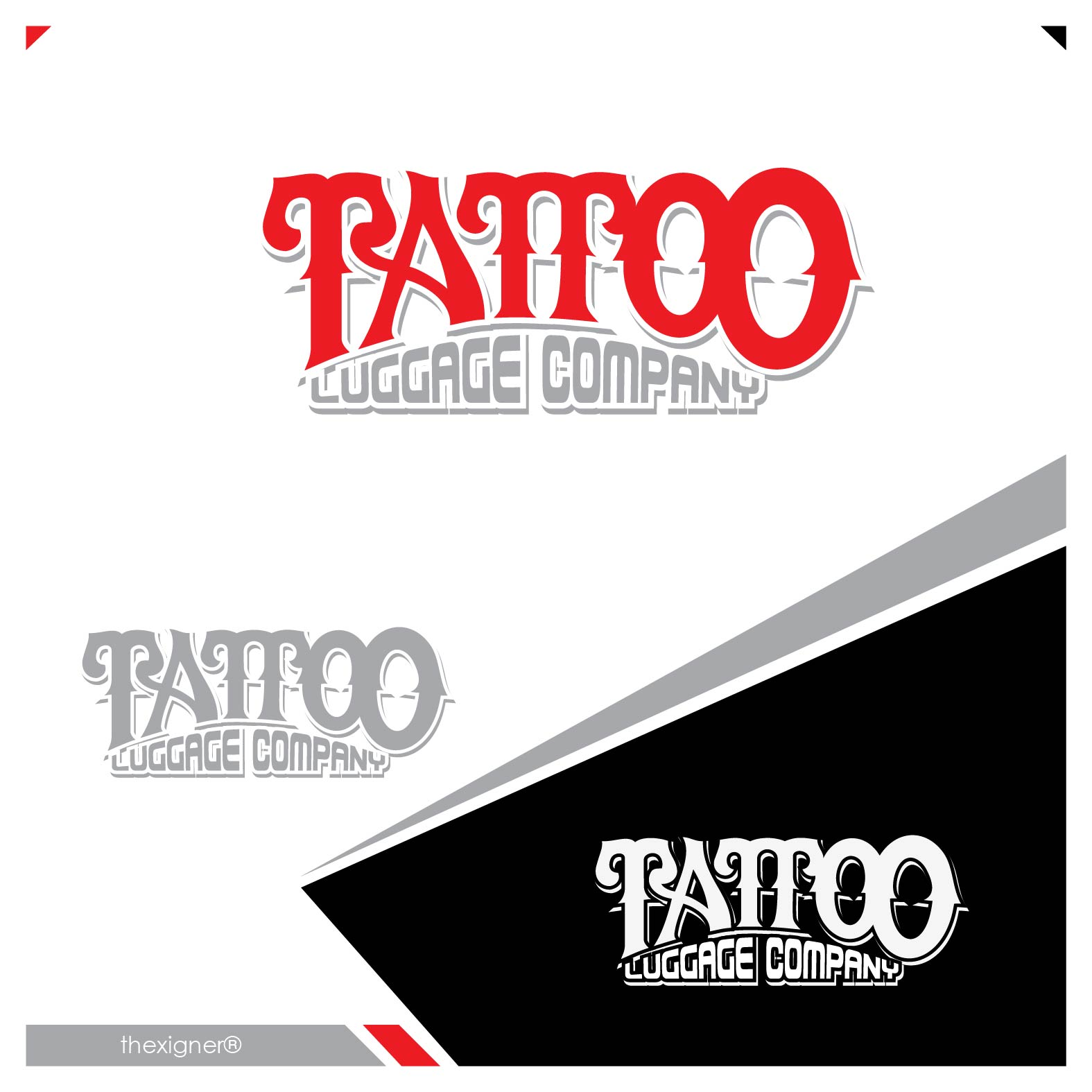 Logo Design by lagalag - Entry No. 43 in the Logo Design Contest Artistic Logo Design for Tattoo Luggage Company.