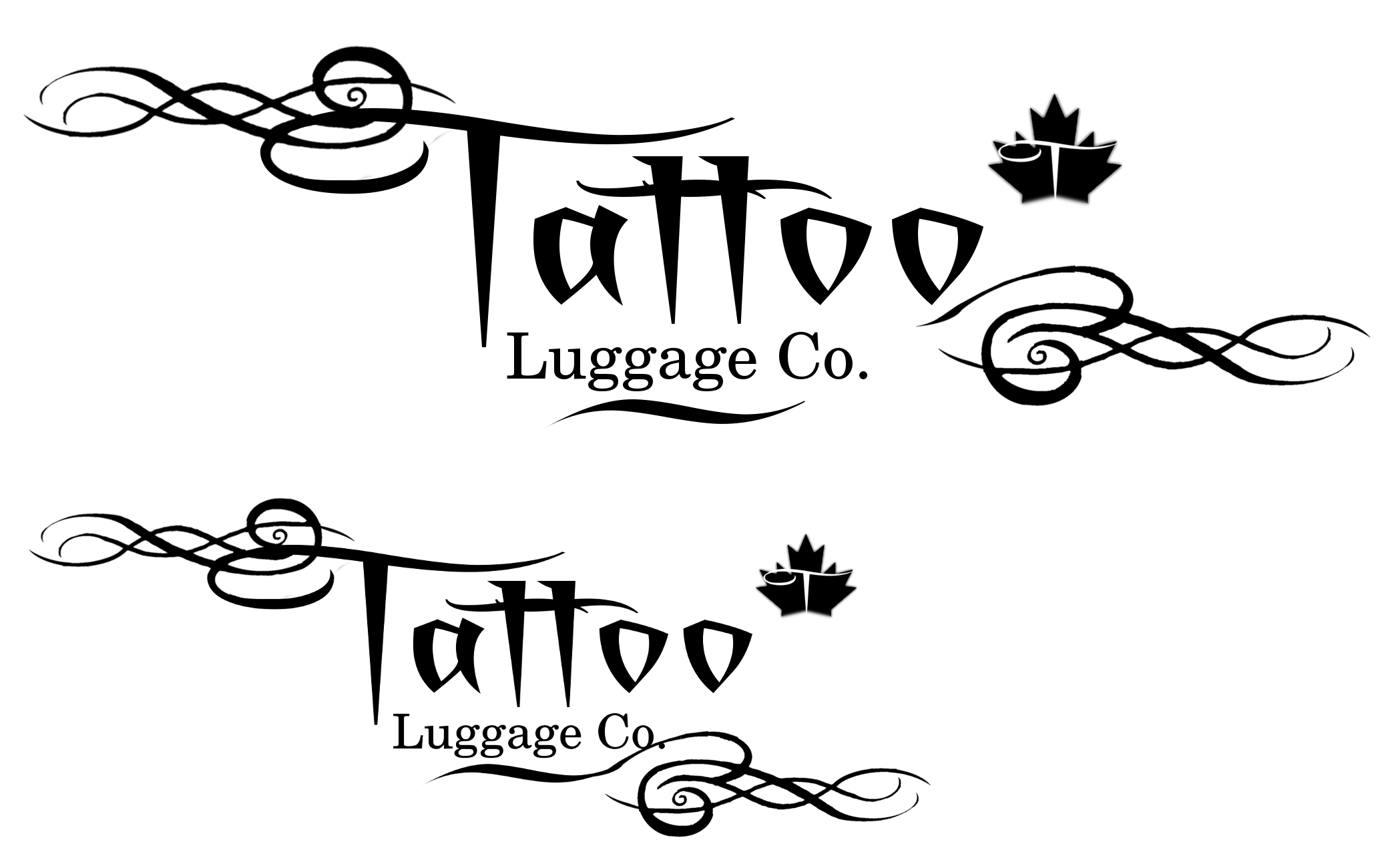 Logo Design by Eric Vincent - Entry No. 45 in the Logo Design Contest Artistic Logo Design for Tattoo Luggage Company.