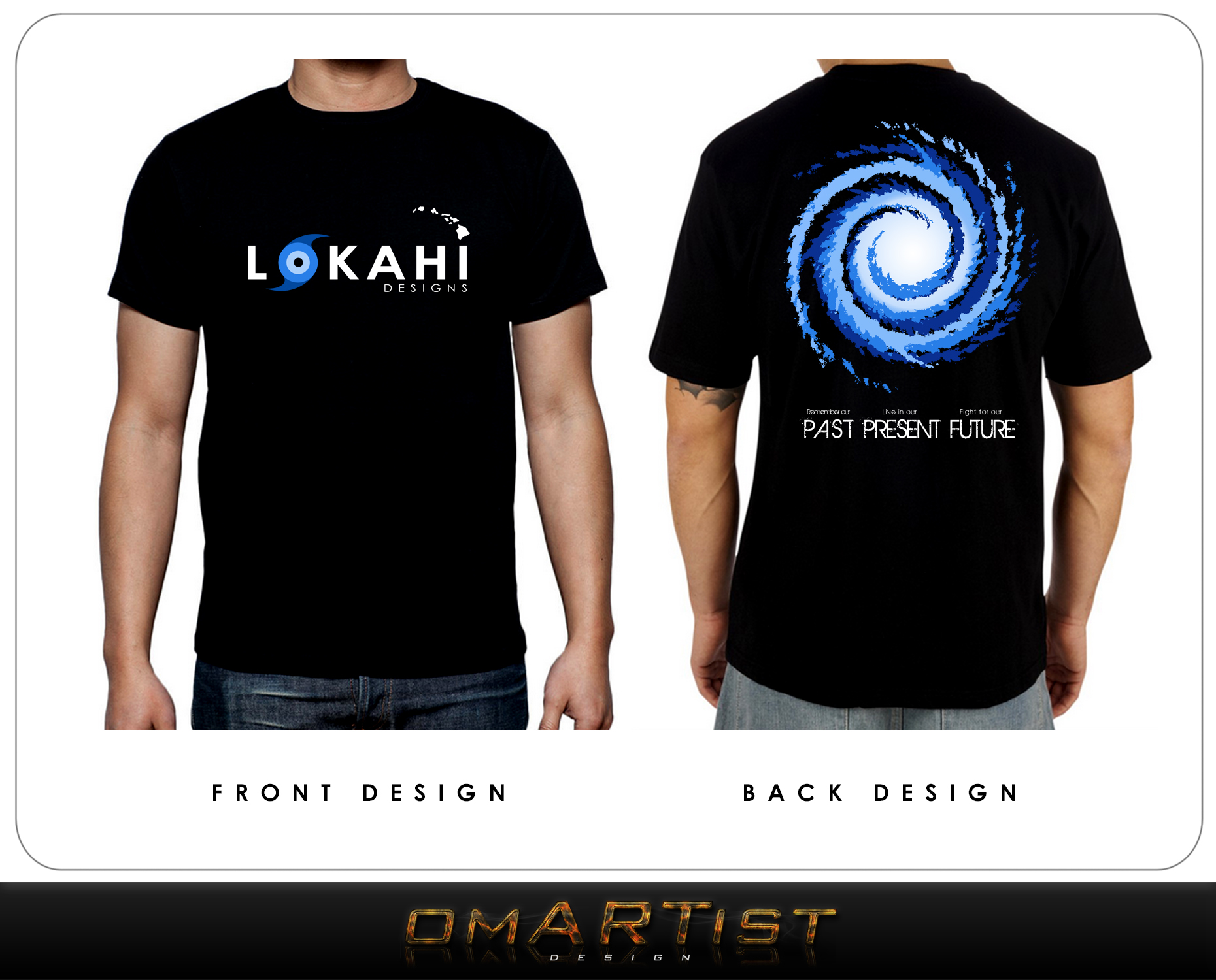 Clothing Design by omARTist - Entry No. 81 in the Clothing Design Contest Creative Clothing Design for LOKAHI designs.