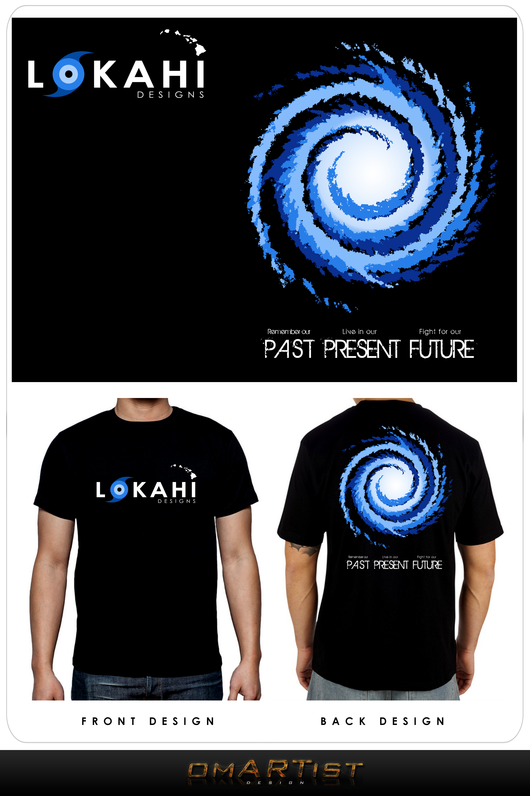 Clothing Design by omARTist - Entry No. 83 in the Clothing Design Contest Creative Clothing Design for LOKAHI designs.