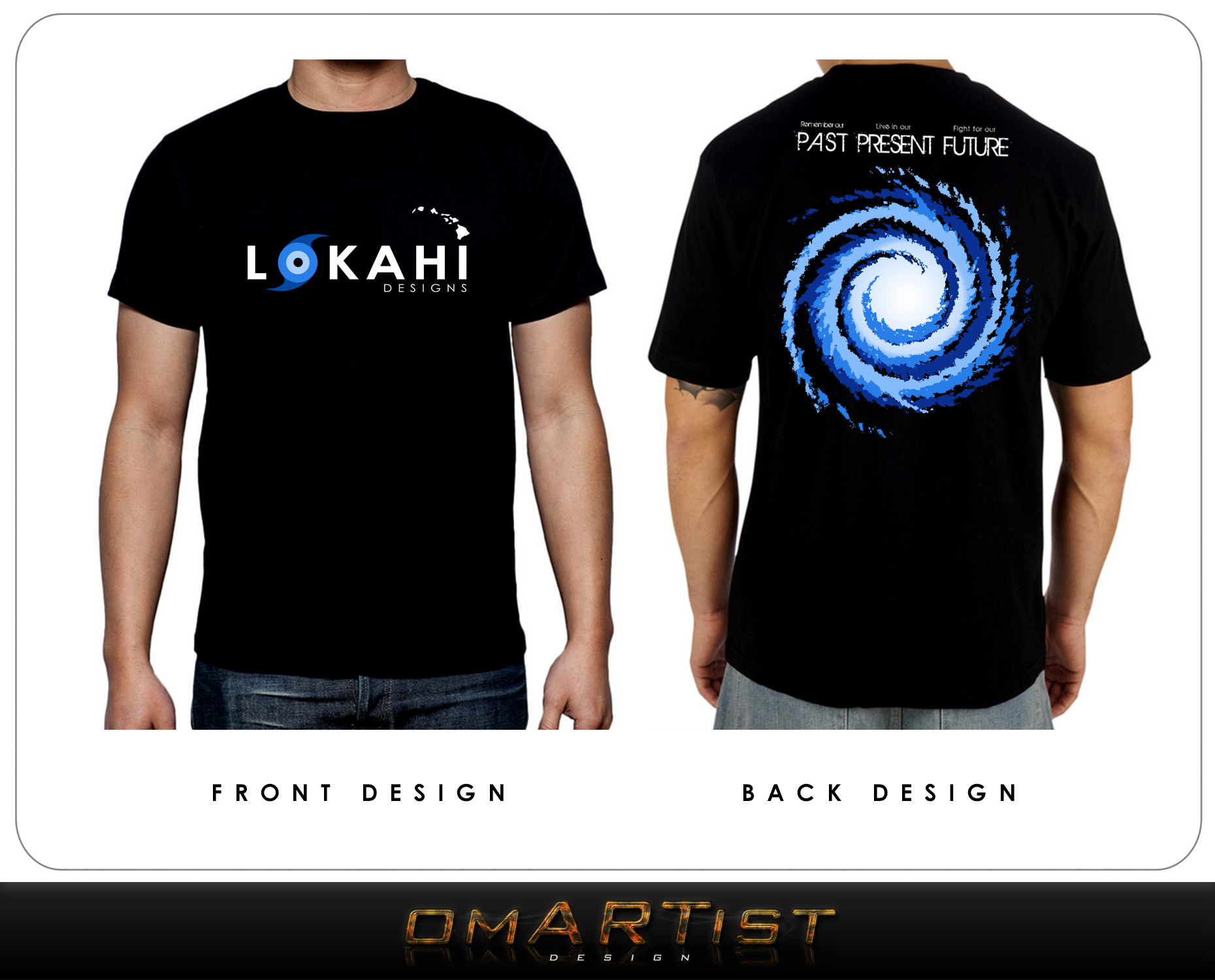 Clothing Design by omARTist - Entry No. 85 in the Clothing Design Contest Creative Clothing Design for LOKAHI designs.