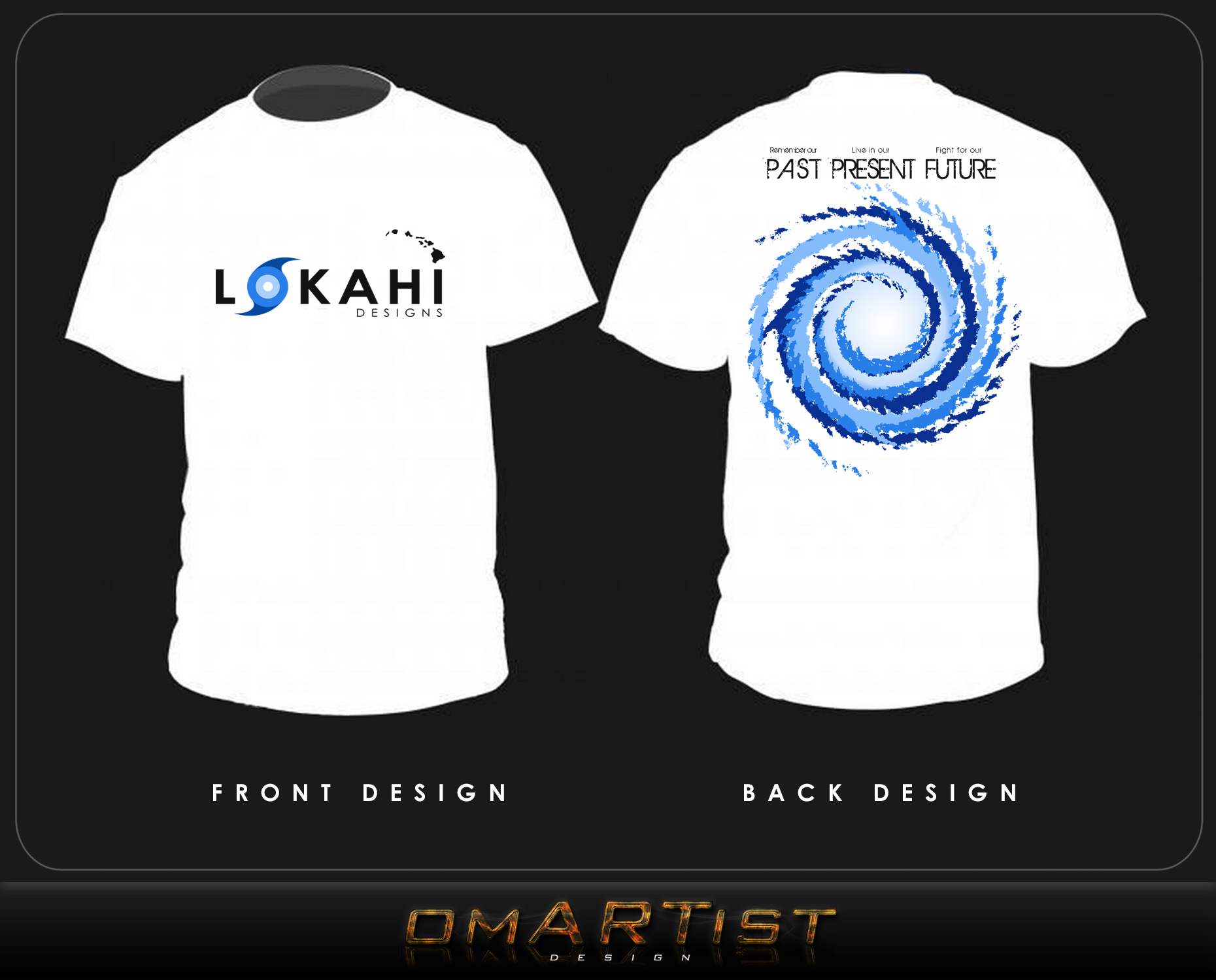Clothing Design by omARTist - Entry No. 87 in the Clothing Design Contest Creative Clothing Design for LOKAHI designs.
