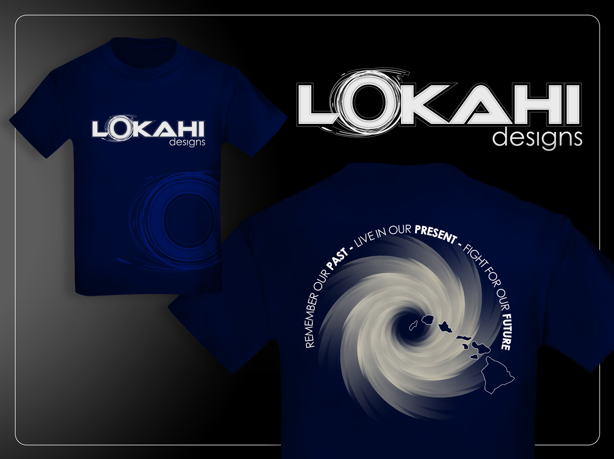 Clothing Design by Mark Anthony Moreto Jordan - Entry No. 90 in the Clothing Design Contest Creative Clothing Design for LOKAHI designs.