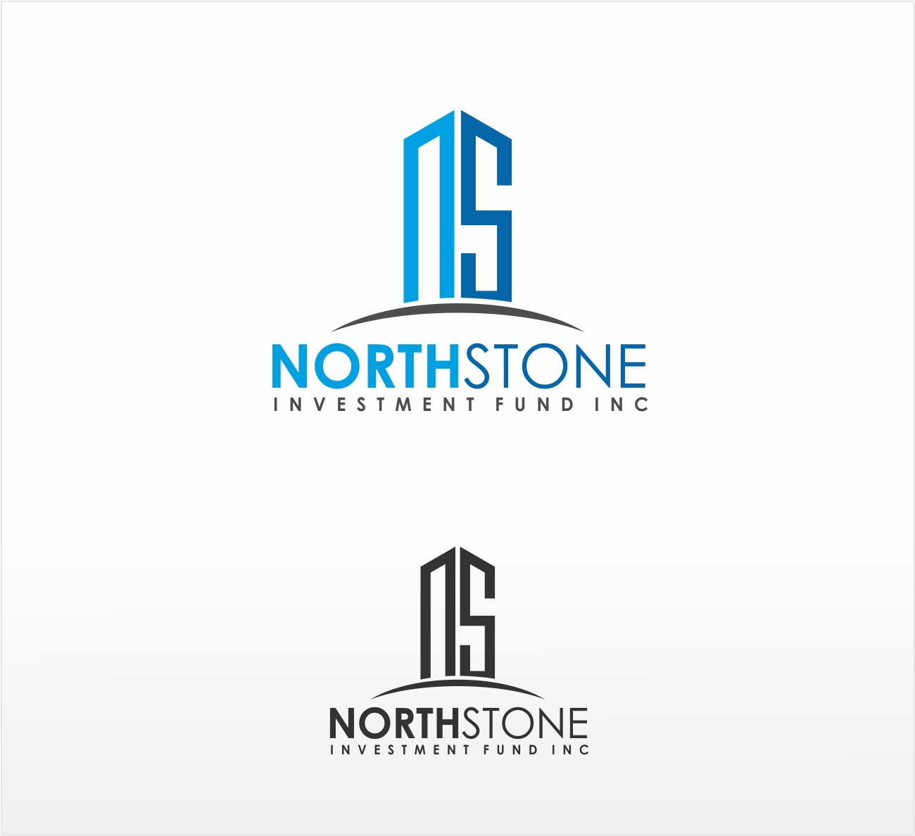 Logo Design by haidu - Entry No. 193 in the Logo Design Contest Unique Logo Design Wanted for NorthStone Investment Fund Inc.