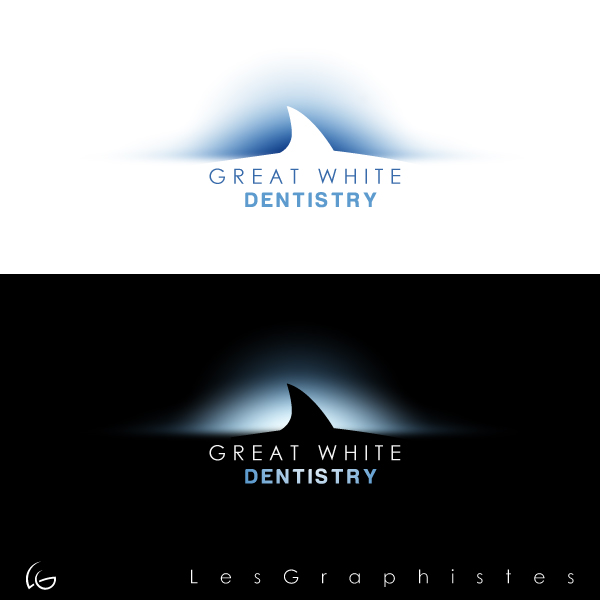 Logo Design by Les-Graphistes - Entry No. 30 in the Logo Design Contest Logo Design for Great White Dentistry.