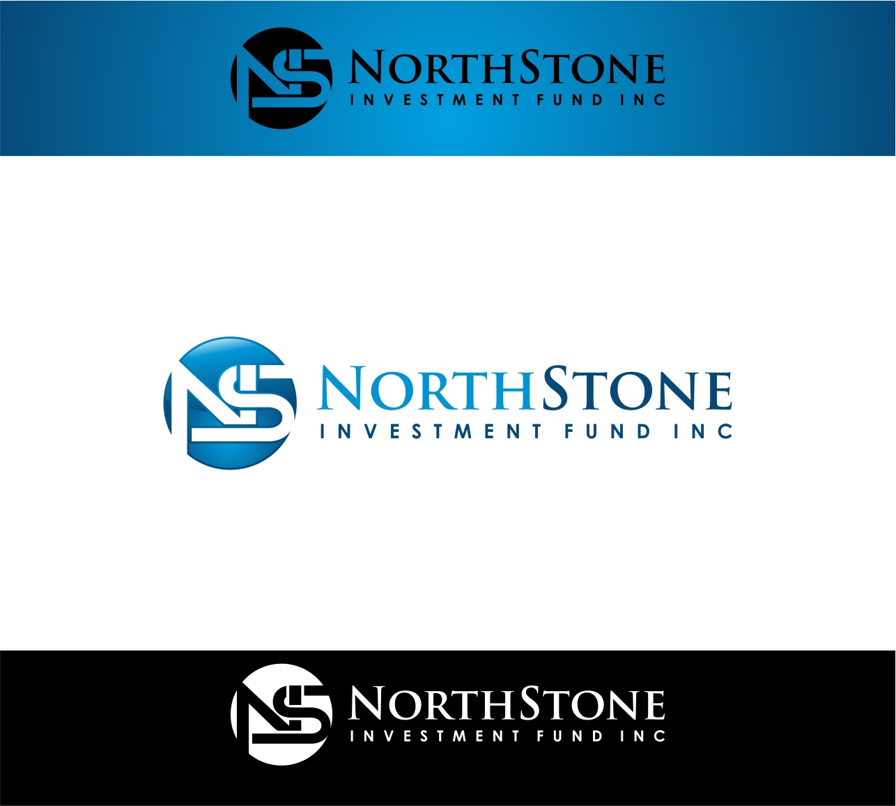 Logo Design by haidu - Entry No. 194 in the Logo Design Contest Unique Logo Design Wanted for NorthStone Investment Fund Inc.