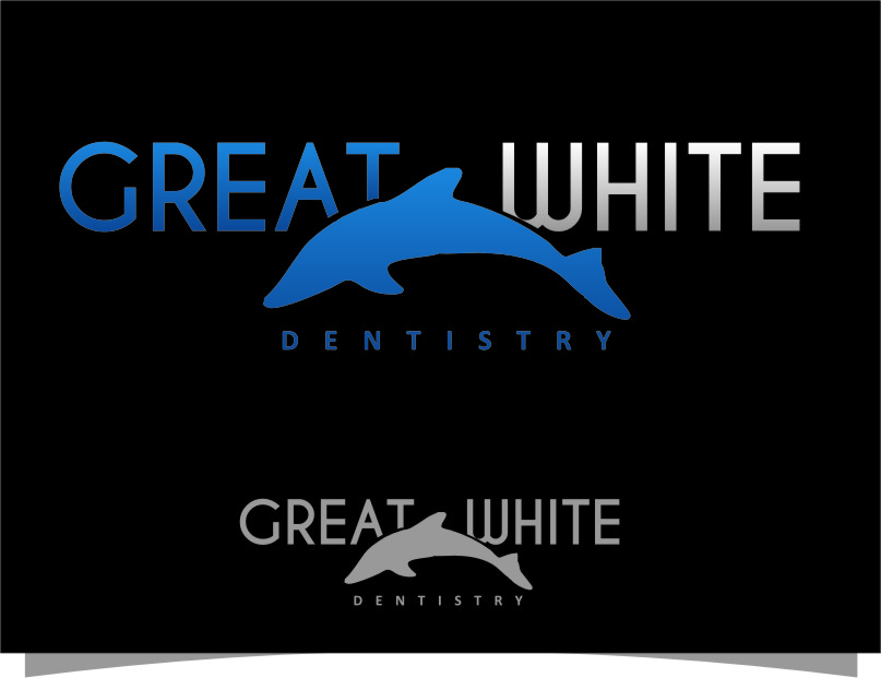 Logo Design by RasYa Muhammad Athaya - Entry No. 34 in the Logo Design Contest Logo Design for Great White Dentistry.