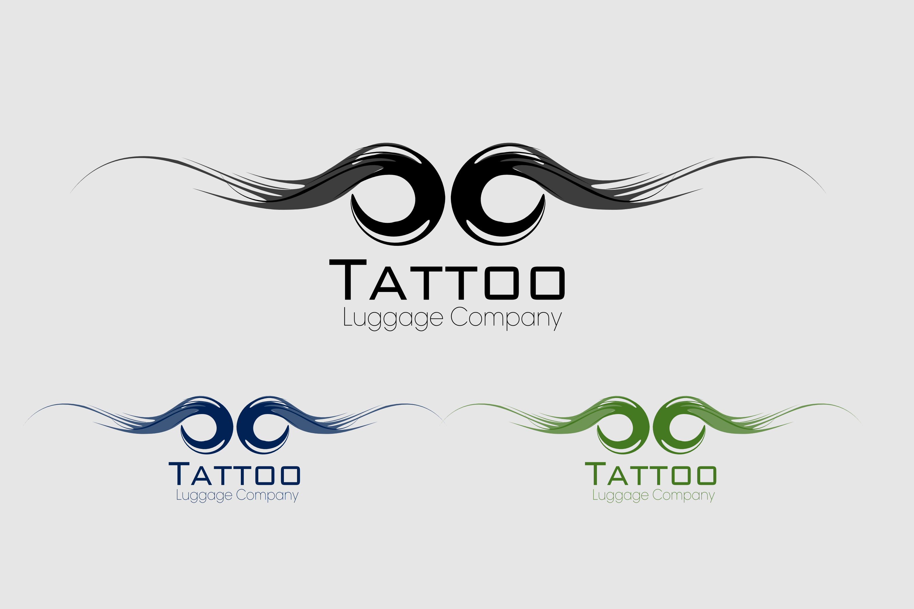 Logo Design by Arindam Khanda - Entry No. 59 in the Logo Design Contest Artistic Logo Design for Tattoo Luggage Company.