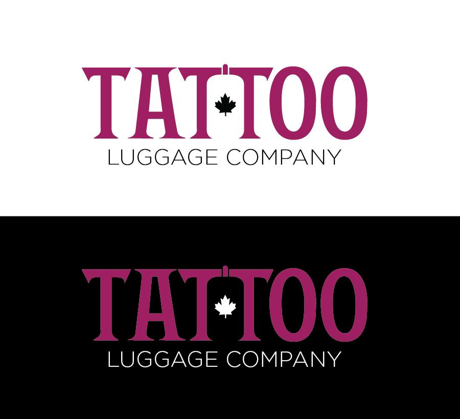 Logo Design by Christina Evans - Entry No. 63 in the Logo Design Contest Artistic Logo Design for Tattoo Luggage Company.