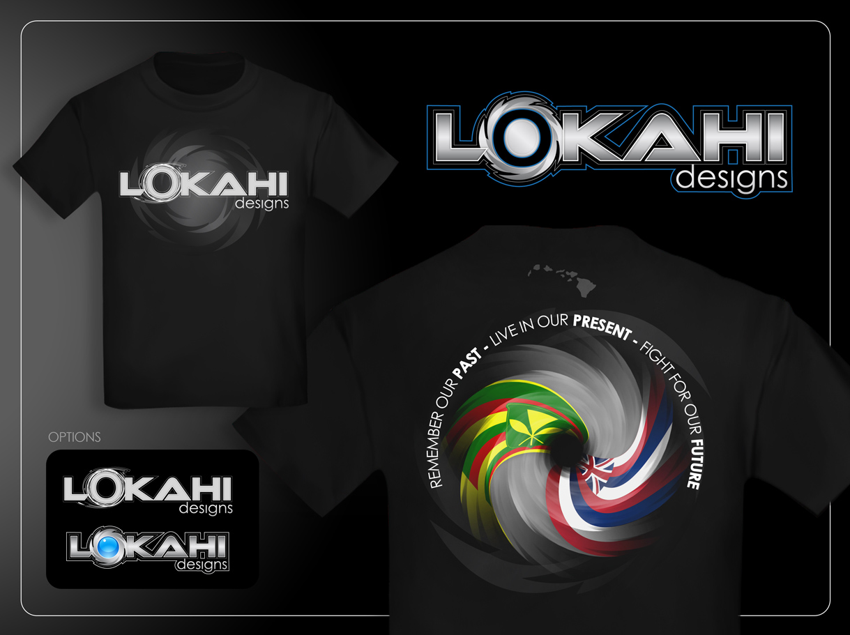 Clothing Design by Mark Anthony Moreto Jordan - Entry No. 102 in the Clothing Design Contest Creative Clothing Design for LOKAHI designs.