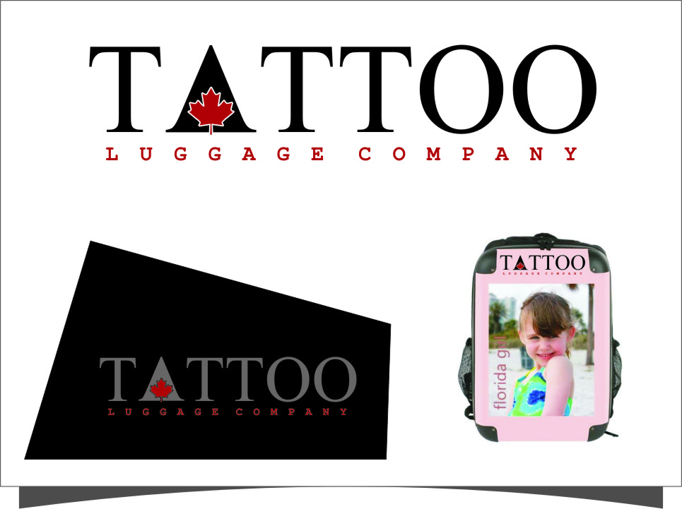 Logo Design by Ngepet_art - Entry No. 66 in the Logo Design Contest Artistic Logo Design for Tattoo Luggage Company.