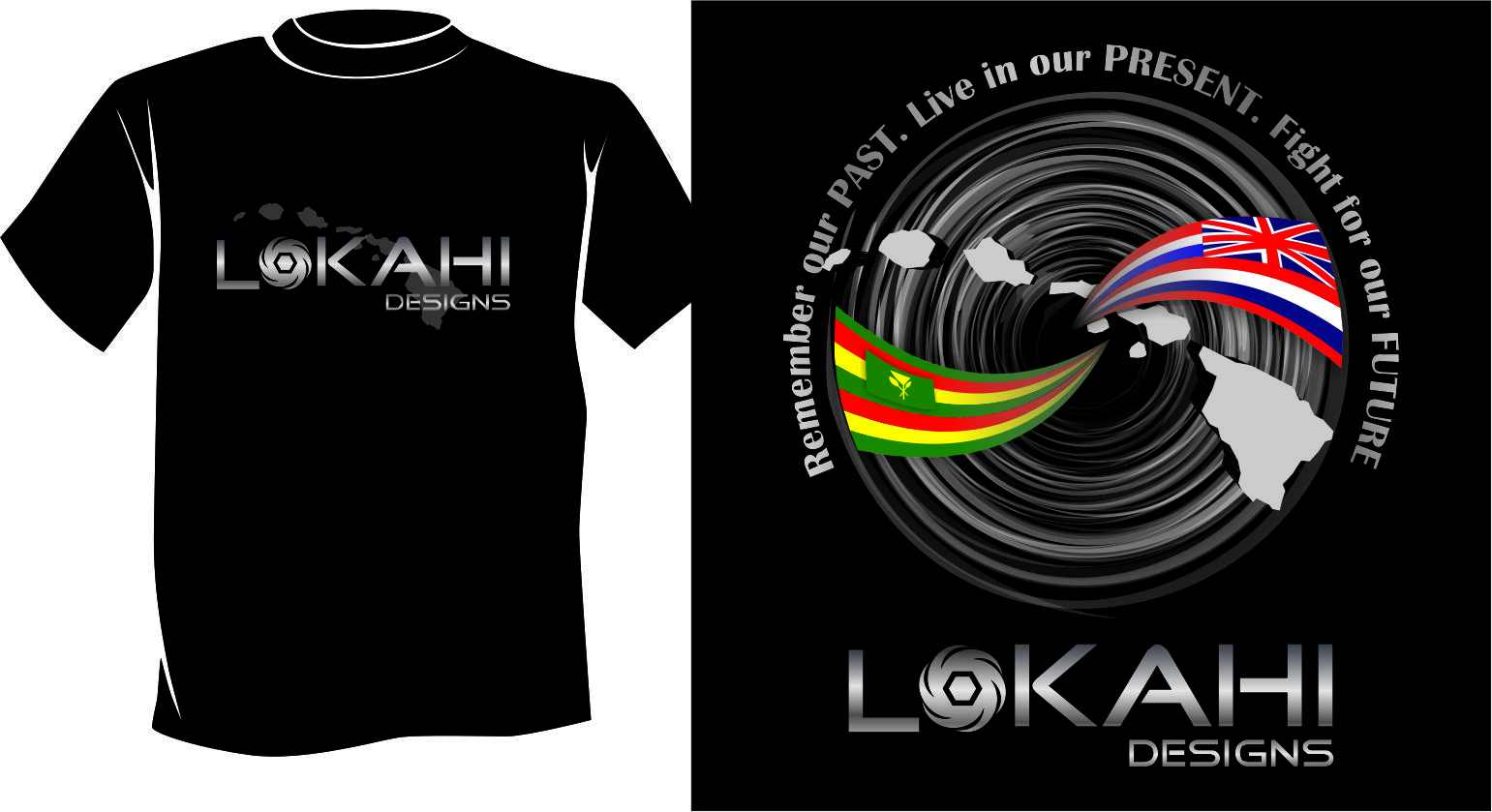 Clothing Design by Agus Martoyo - Entry No. 110 in the Clothing Design Contest Creative Clothing Design for LOKAHI designs.