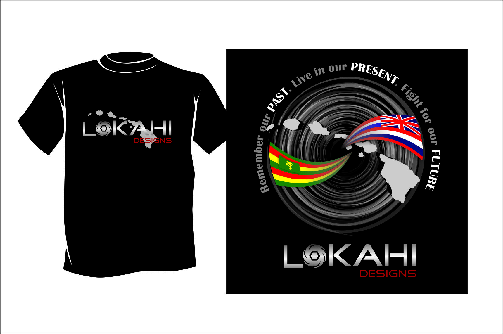 Clothing Design by Agus Martoyo - Entry No. 111 in the Clothing Design Contest Creative Clothing Design for LOKAHI designs.