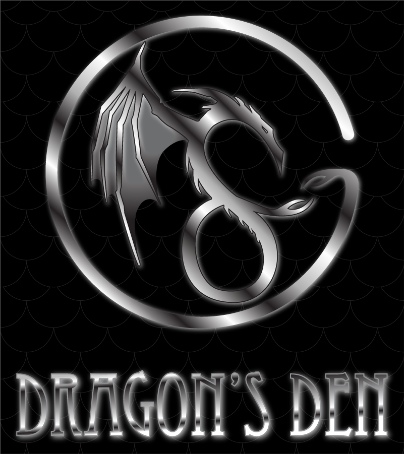 Logo Design by Andrew May - Entry No. 111 in the Logo Design Contest The Dragons' Den needs a new logo.