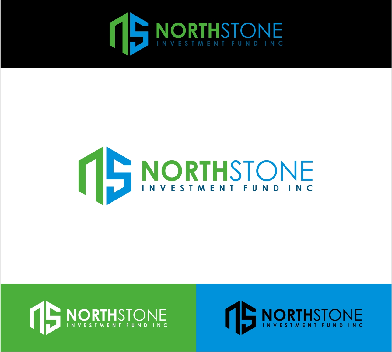 Logo Design by haidu - Entry No. 197 in the Logo Design Contest Unique Logo Design Wanted for NorthStone Investment Fund Inc.