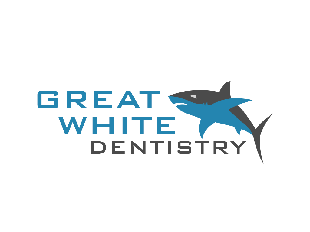 Logo Design by philipprince - Entry No. 39 in the Logo Design Contest Logo Design for Great White Dentistry.