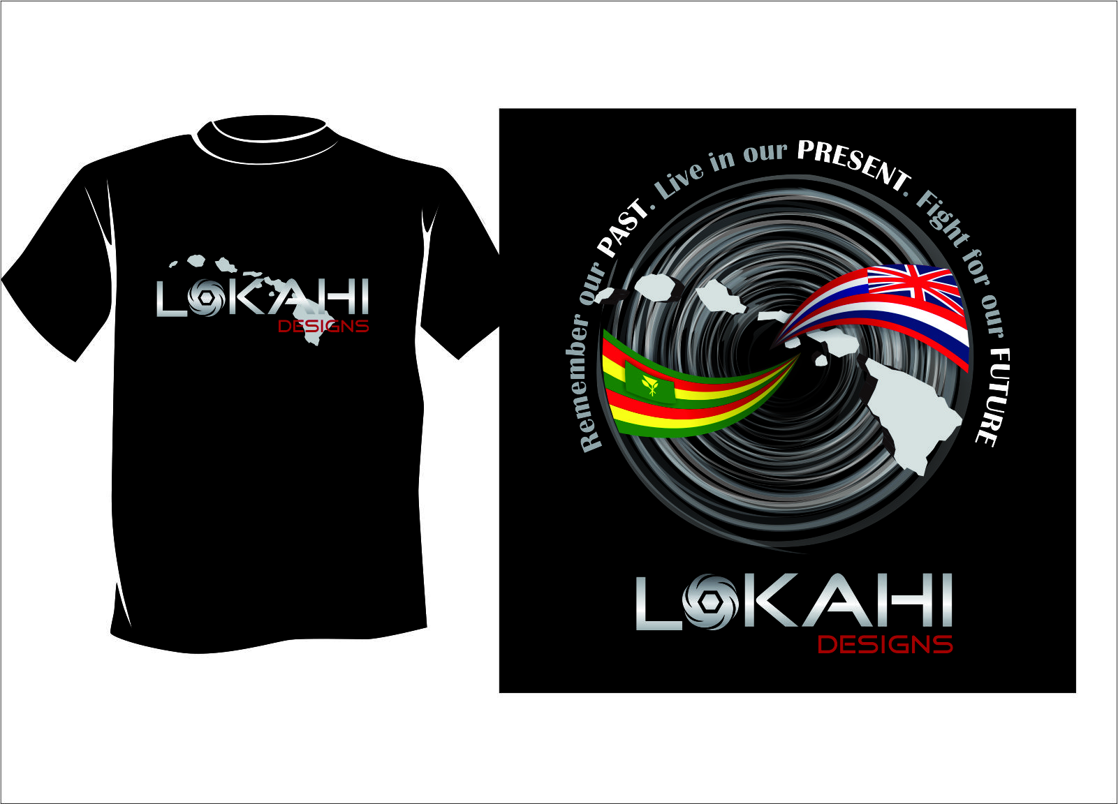 Clothing Design by Agus Martoyo - Entry No. 122 in the Clothing Design Contest Creative Clothing Design for LOKAHI designs.