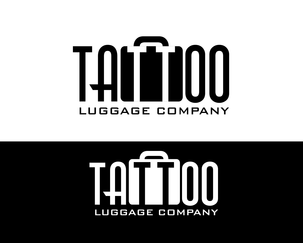 Logo Design by philipprince - Entry No. 69 in the Logo Design Contest Artistic Logo Design for Tattoo Luggage Company.