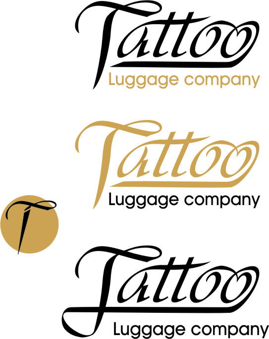 Logo Design by Korsunov Oleg - Entry No. 71 in the Logo Design Contest Artistic Logo Design for Tattoo Luggage Company.