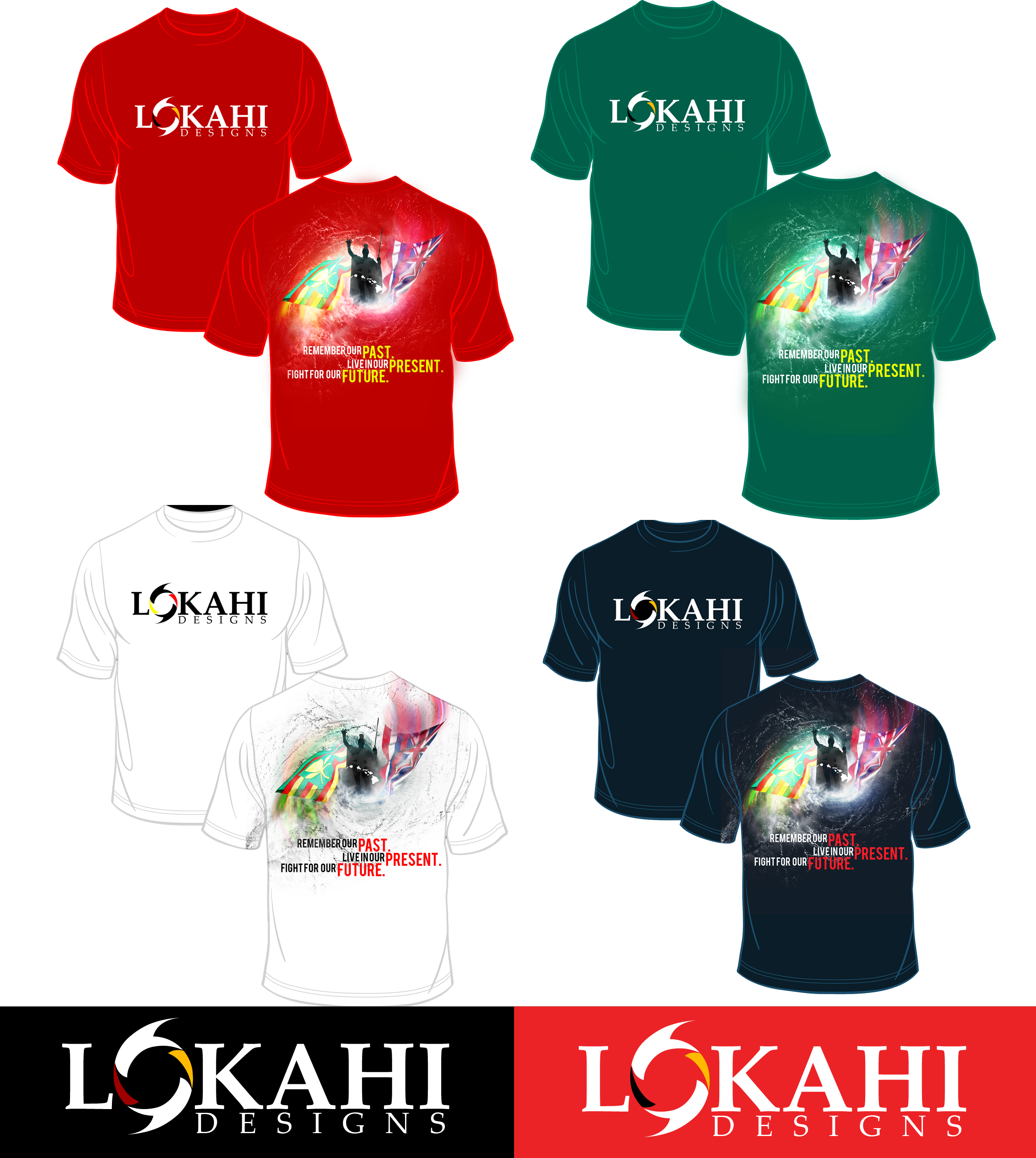 Clothing Design by Kenneth Joel - Entry No. 157 in the Clothing Design Contest Creative Clothing Design for LOKAHI designs.