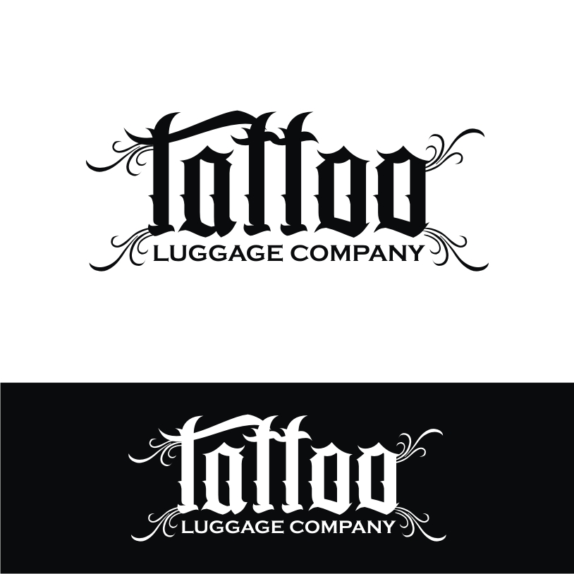 Logo Design by Private User - Entry No. 82 in the Logo Design Contest Artistic Logo Design for Tattoo Luggage Company.